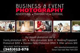 Photography Poster Template Studio