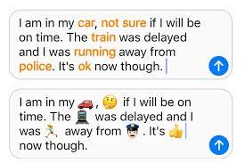 iOS 10 emoji keyboard how to use QuickType send large emoji and