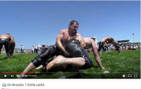 100 Quest Trucking Charlotte Man Competes In Turkish Oil Wrestling Charlotte Observer