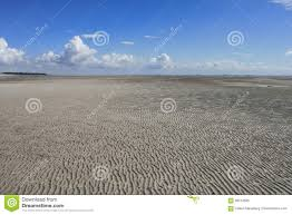 100 Island Of Fohr Sand Ripples At Low Tide Stock Image Image Of Effect 98513385