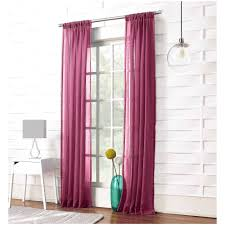 Sheer Curtain Panels Walmart by 20 New Photos Of Sheer Coral Curtains 7439 Curtain Ideas