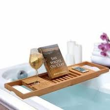 Bamboo Bathtub Caddy With Reading Rack by Bambüsi 100 Bamboo Bathtub Caddy With Extending Sides Reading