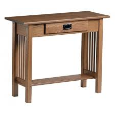 Mission Console Table with Drawer Peaceful Valley Amish Furniture