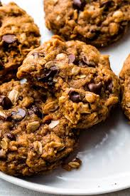 Healthy Chocolate Pumpkin Desserts by Chewy Pumpkin Oatmeal Chocolate Chip Cookies Sallys Baking Addiction