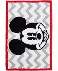 Macys Mickey Mouse Bathroom Set by Disney Bath Accessories Disney Mickey Mouse Trash Can Bathroom