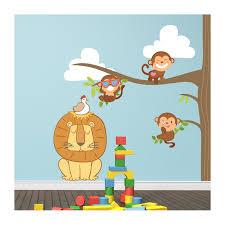 stickers chambre bébé arbre stickers chambre bébé arbre et petits singes pour votre nourrisson
