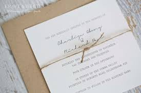 Twine Wedding Invitations As An Alternative For Your Beautiful 10