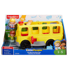 Fisher-Price Little People Sit With Me School Bus - Toys