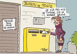 bureau de poste 17 la poste fermée pour cause de maladie le dessin de félé actu fr