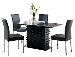 The Most Contemporary Dining Room Sets For Less In Table Set Plan Houzz Chair Rail Contemporar