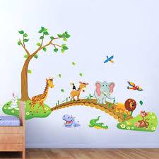 stickers jungle chambre bébé annsinn info wp content uploads 2017 10 stickers d