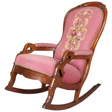 Antique Victorian Carved Walnut And Needlepoint Upholstered ... Victorian Rocking Chair Image 0 Eastlake Upholstery Fabric Application Details About Early Rocker Rocking Chair Platform Rocker Colonial Creations Mid Century Antique Restoration Broken To Beautiful 19th Mahogany New Upholstery Platform Eastlake Govisionclub Illinois Circa Victoria Auction