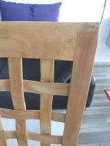holzstuhl aus teakholz massivholz sehr schöne ge