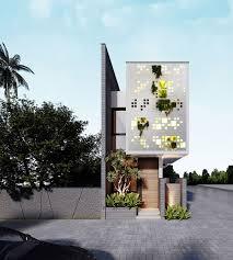 100 Narrow House Designs 50 Lot S That Transform A Skinny Exterior Into