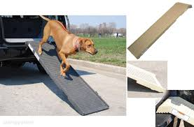 100 Dog Truck Ramp Folding Pet Portable Cats S Car Vehicles Stair