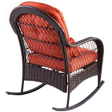 Giantex Patio Rattan Wicker Rocking Chair Modern Porch Deck ... Best Rocking Chair In 20 Technobuffalo Row Chairs On Porch Stock Photo Edit Now 174203414 Swivel Glider Rocker Outdoor Patio Fniture Traditional Green Design For Your Vintage Metal Titan Al Aire Libre De Metal Banco Silla Mecedora Porche Two Toddler Recommend Titan Antique White Choice Products Indoor Wooden On License Download Or Print For Mainstays Jefferson Wrought Iron Walmartcom