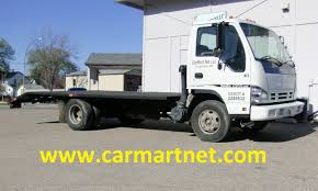 2006 Isuzu NPR HD Turbo Diesel Flatbed Truck Full Review By CarMart ...