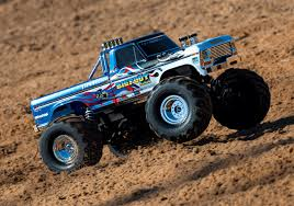 100 Bigfoot Monster Truck Toys Traxxas No1 Original Flame RTR 110 2WD