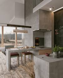 100 Modern Interior Designs For Homes 3 Stylish With Dark Red Accents Kitchen