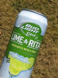 Bud Light Lime a Rita Fonts In Use