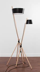 Crate And Barrel Denley Floor Lamp by Copper And Wood Floor Lamp Floor Lamp Woods And Interiors