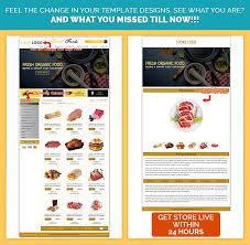 Fresh Food Theme Item Description Template EBay Store Designs