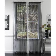 Bed Bath And Beyond Gray Sheer Curtains by Buy Black Sheer Curtains From Bed Bath U0026 Beyond