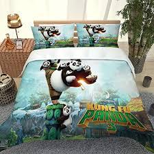guoting bedding bed linings set bed set 3piece 260x230cm animal panda 3d duvet cover set size microfiber polyester print zip