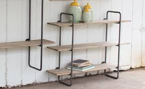 Teak Bathroom Wall Shelves by Pretty Design Tiered Shelves Marvelous Decoration Four Ladder