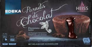 paradis de chocolat edeka 200g