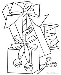 Free Printable Christmas Coloring Sheets Of Presents