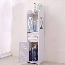 mornon badezimmerschrank 15x15 5x80cm badschrank hochschrank badmöbel schrank modern in weiß top für badezimmer aus pvc