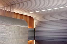 Usg Ceiling Grid Data Sheet by Usg Ceilings Paraline Linear Specialty Ceiling System On Designer
