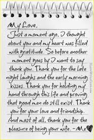 A Sweet Love Letter To My Wife