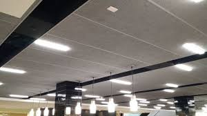 Tectum V Line Ceiling Panels by Check Out Tectum Lay In Ceiling Panels Utilized To Reduce Noise