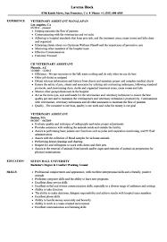 20 Excellent Veterinary Assistant Resume Ug A128274 Samples Rh Ukipbranch Org Vet Tech Salary Veterinarian Job