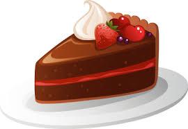 Cake clipart cake slice 8