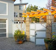 100 Contemporary Gate Garden Entry Landscape Modern With Exterior Contemporary