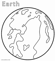 Free To Download Earth Coloring Page 25 For Kids With
