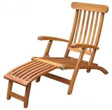 solid commercial quality teak steamer chair folding for easy
