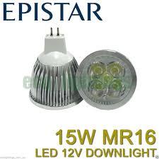 liliano led mr16 15w 12v bulb downlight globe l cool white non