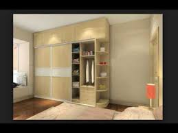 Modern Wood Master Bedroom Wardrobe Design Ideas