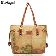 popular map tote bag buy cheap map tote bag lots from china map