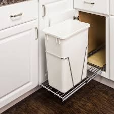 Under Cabinet Trash Can Holder by Waste Baskets For Kitchen Cabinets With Uncategories Under Sink