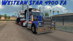 American Truck Simulator Western Star 4900FA Equipment Haul - YouTube T660 American Truck Simulator Mods Ats Download Free Great Trucking Show 2016 Fleet Clean Low Sweep Cozad Expando For Category Eagle Stainless Steel Exhaust Ferrotek Open House Archives Cstk Equipment Van Video Dailymotion And Best Image Kusaboshicom Competitors Revenue And Employees Owler Background Cabinjpg Steam Historical Society Ebay Stores Display At Mats