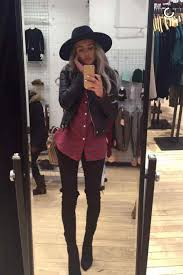 Outfits With Leggings And Combat Boots Clothing Staples Every Woman Needs Glamour Black Jeans Red Plaid Shirt Letaher Jacket Cute Winter
