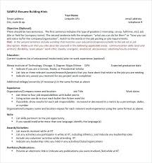 Resume Template College Freshman While In Sample Resumes For Internships Students Internship Functional An It