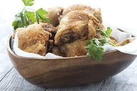 Low Carb Naked Fried Chicken Recipe Deep To Perfection