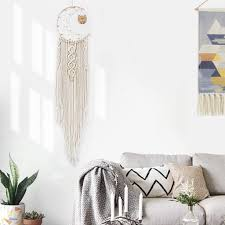 makramee wandbehang boho deko woven wanddeko wandteppich böhmische tapisserie gewebte haus dekoration chic home decor geschenke apartment schlafsaal