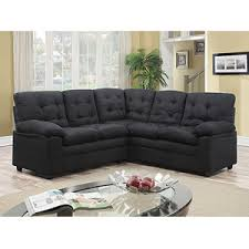 Buchannan Faux Leather Sectional Sofa by Buy Buchannan Faux Leather Corner Sectional Sofa Black In Cheap